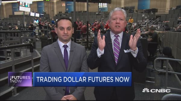 Trader says the dollar's run is now overdone