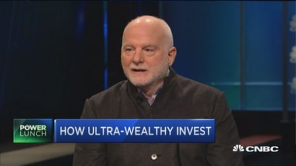 Tiger 21's Michael Sonnenfeldt on how the ultra-weathy invest