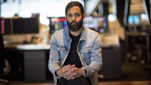Baiju Bhatt, co-founder and co-chief executive officer of Robinhood Financial LLC.