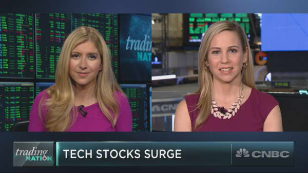 The tech rally is back in business as earnings season wraps up, strategist says