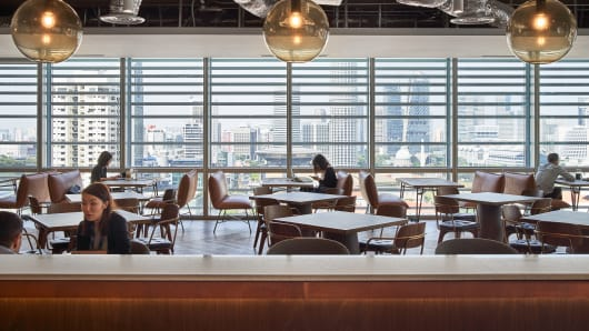 Inside Diageo's Singapore office