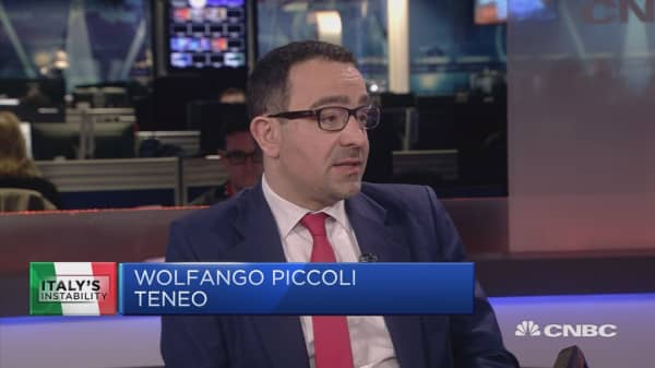 Running Italy is 'difficult,' analyst says