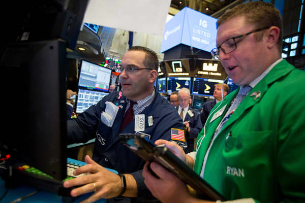 Tech and financials continue to lead market