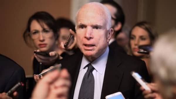 WH aide dismissed McCain view, saying 'he's dying': AP