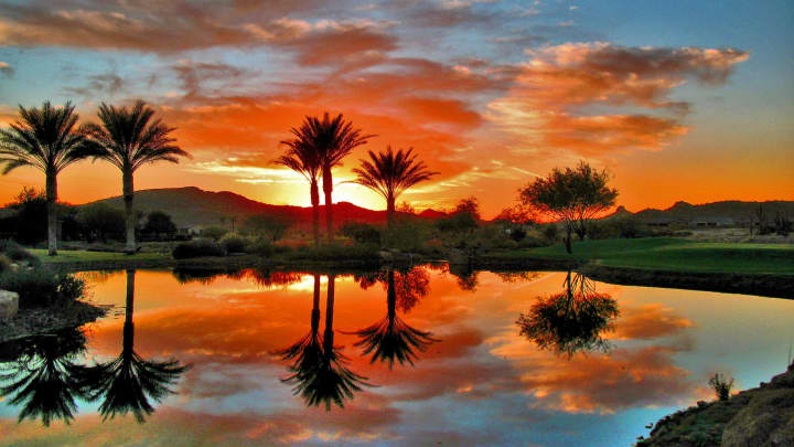 Trilogy at Vistancia active lifestyle community in Peoria, Arizona.