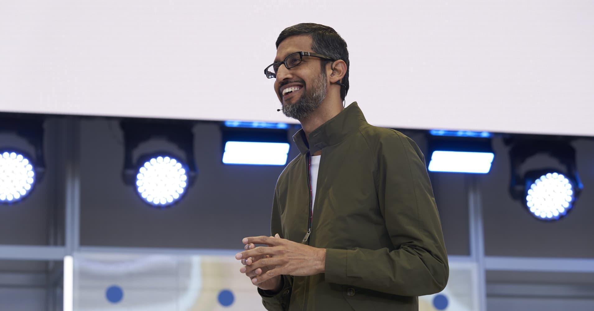 Google's flashy A.I. demo overshadowed Microsoft's focus on work