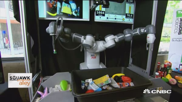 Robots on the rise at TechCrunch summit