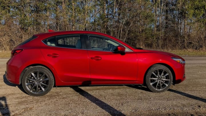 the 2018 mazda 3 grand touring is an almost perfect hatchback. Black Bedroom Furniture Sets. Home Design Ideas