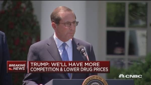 HHS Secretary Azar on drug prices: We're not going to propose gimmicks