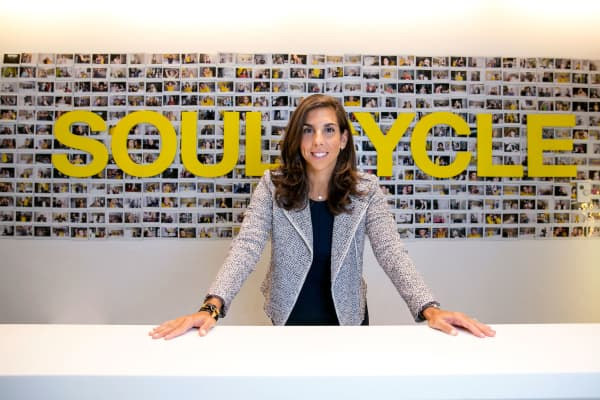 Melanie Whelan, CEO of SoulCycle.