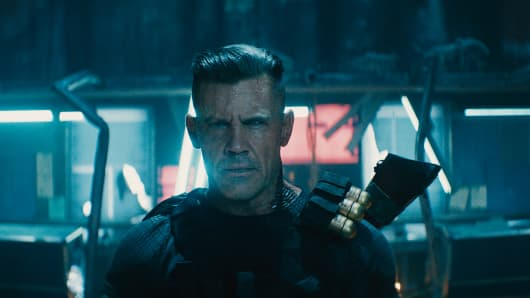 "Josh Brolin as Cable in Twentieth Century Fox's ""Deadpool 2"""