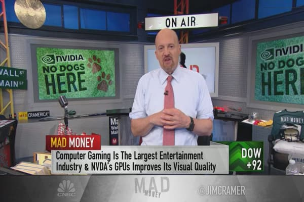 Cramer: Forget Nvidia's slowing crypto franchise—this best-in-show stock is a buy