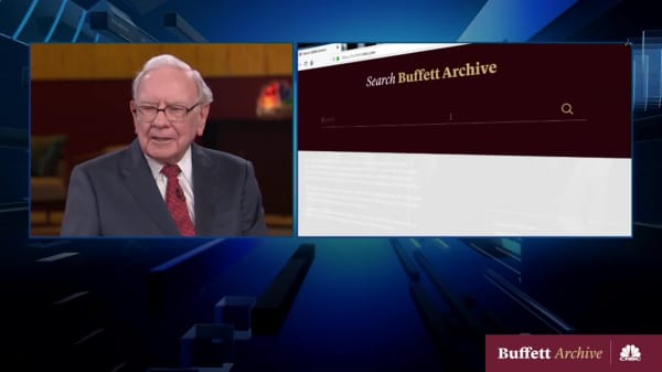 CNBC's Warren Buffett Archive website