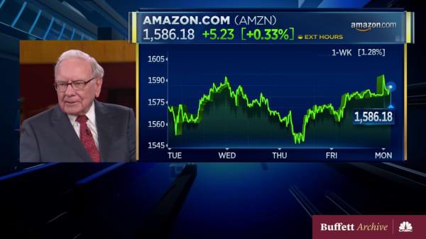 Buffett on missing Amazon and Google