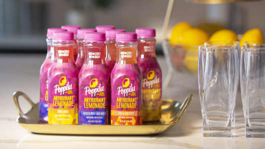 Poppilu antioxidant lemonade