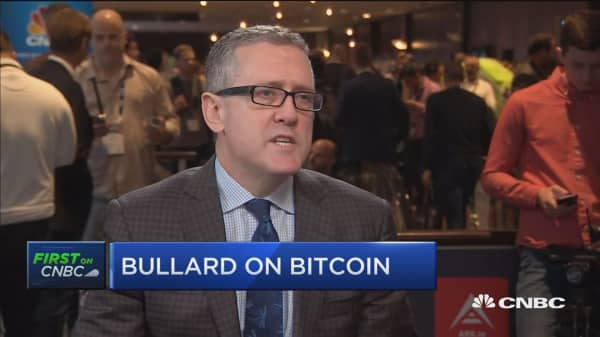 St. Louis Fed's James Bullard talks bitcoin and the economy