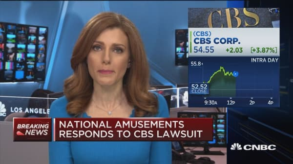 National Amusements responds to CBS lawsuit calling it, 'outrageous'