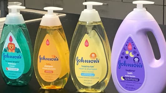Johnson & Johnson launches new line of baby products.