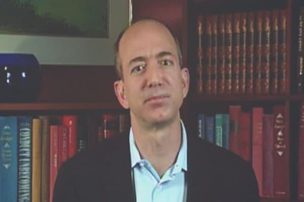 Watch Jeff Bezos talk about Warren Buffett in this 2005 interview