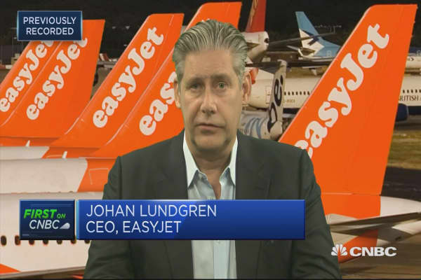 EasyJet CEO: We've had one of the best winter performances ever