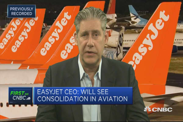 EasyJet CEO: Confident there will be a Brexit aviation deal