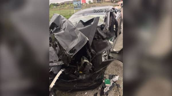 Tesla reportedly in autopilot mode in Utah crash