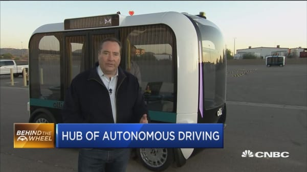 Arizona city becomes hub for self-driving cars