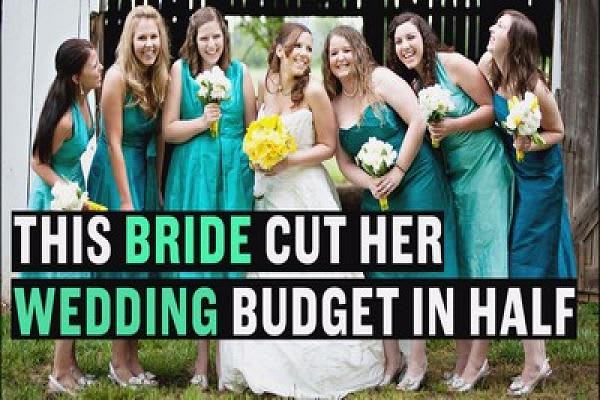How this bride had a $20,000 wedding for half the price