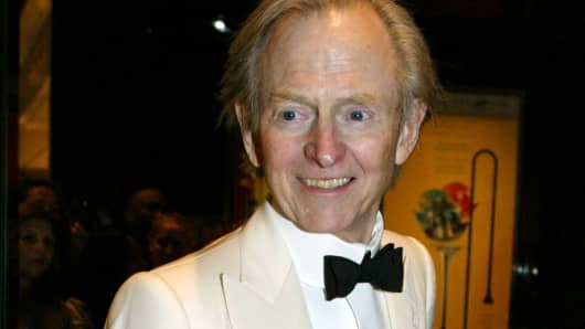 Tom Wolfe in 2005.