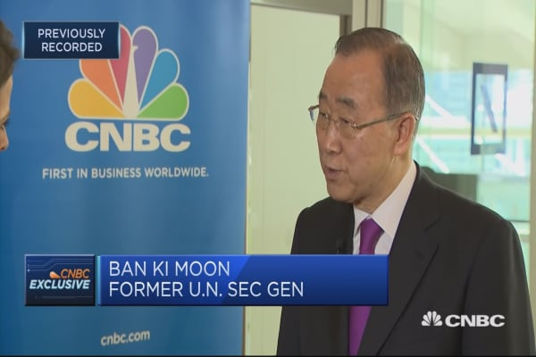 Ban Ki-moon: Deeply concerned about North Korea talks cancellation