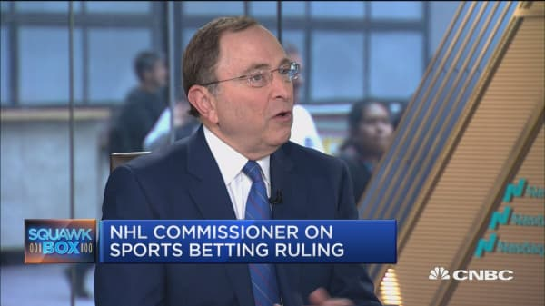 NHL Commissioner Gary Bettman on legal sports betting
