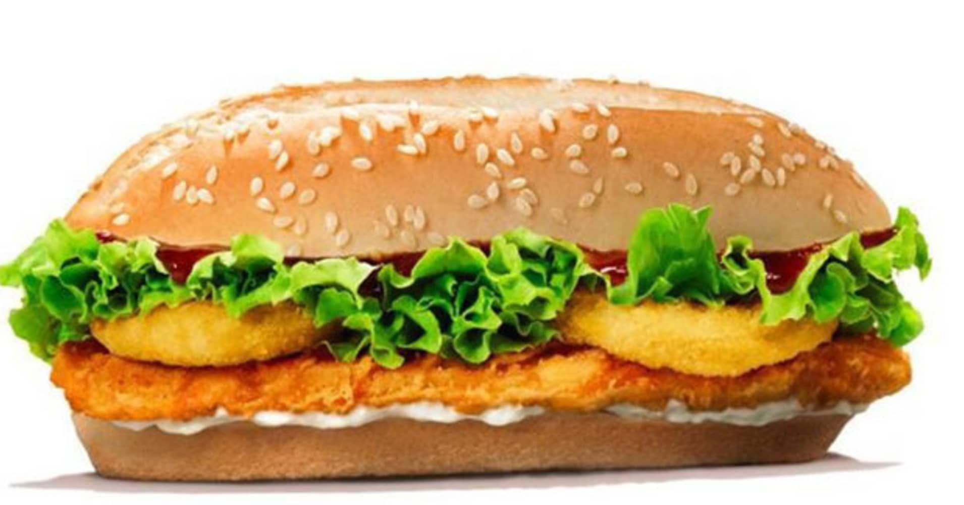 Burger King has released a new chicken burger in honor of the royal couple's wedding.