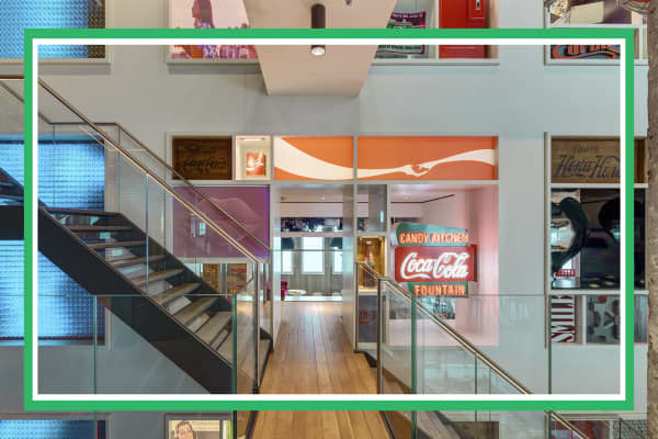 Coca-Cola's London Office