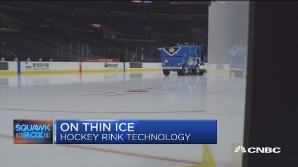 Pro hockey arenas turn to greener ice-making tech