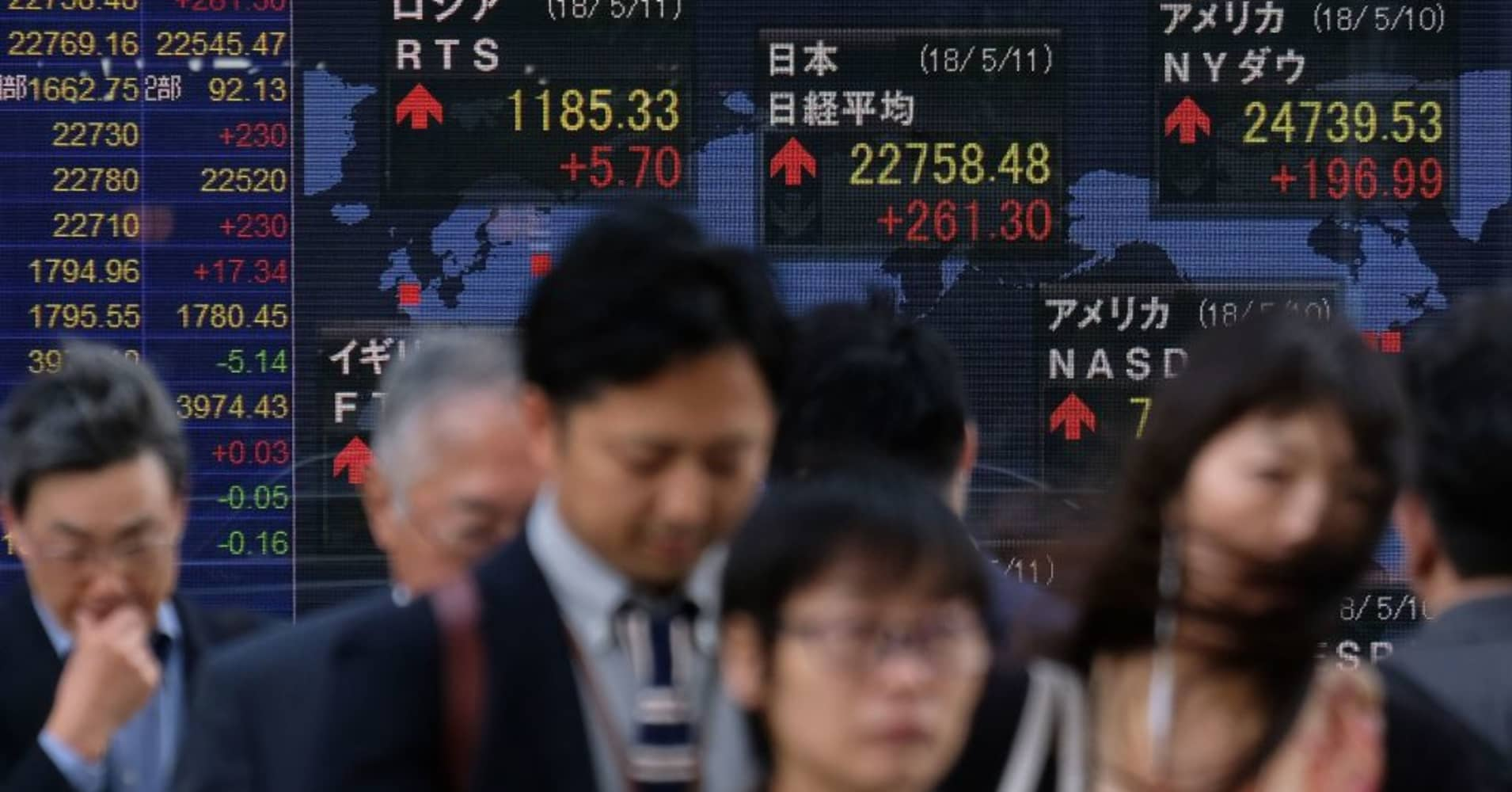 Asian shares poised for gains, tracking Wall Street's lead amid firm dollar