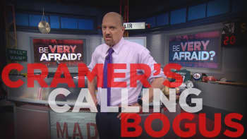 Cramer Remix: A lot of the negativity in the market is bogus