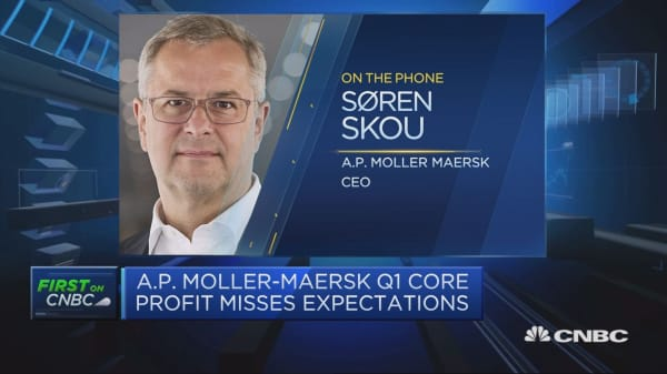 Maersk CEO: Outlook much better for container shipping