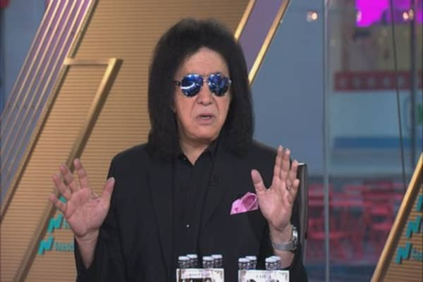 KISS frontman Gene Simmons on the pot business