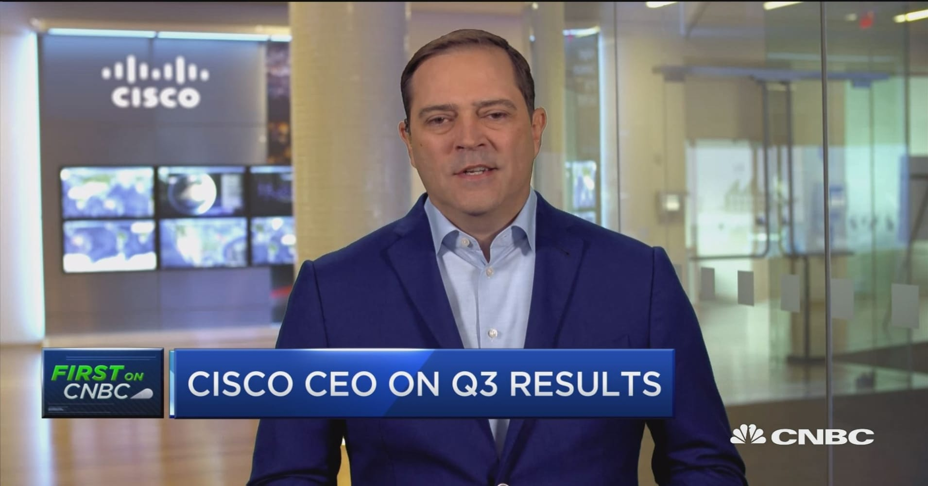 6b35758bb31e2b Cisco CEO Chuck Robbins on earnings and outlook