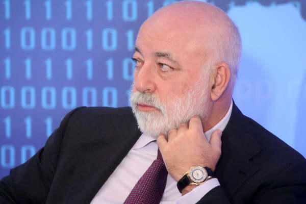 Russian businessman and billionaire Viktor Vekselberg.