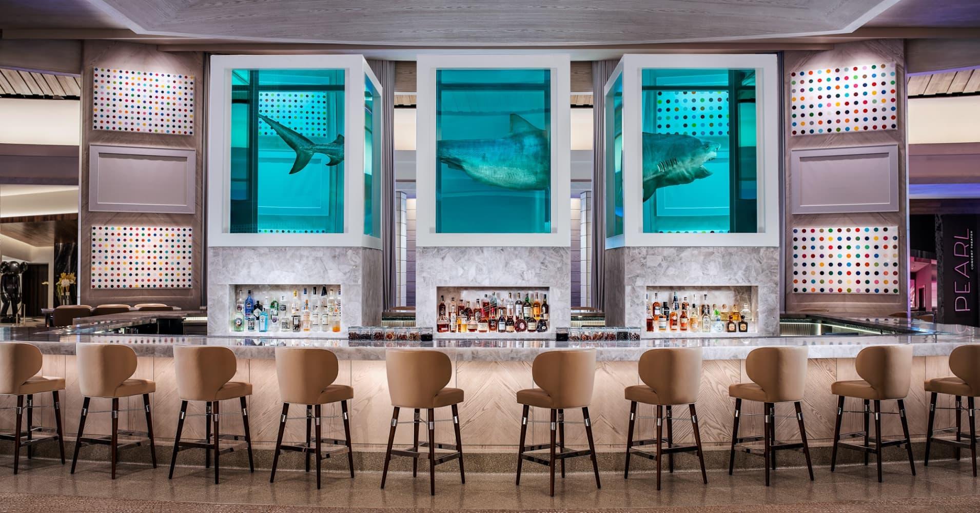 Damien Hirst art at Palms Casino Resort
