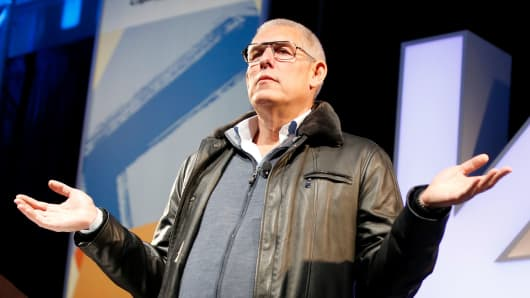 Lyor Cohen speaks onstage at the Music Keynote during SXSW at Austin Convention Center on March 14, 2018 in Austin, Texas.