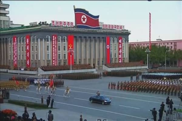 North Korea says it won't hold talks with the 'incompetent' South unless differences are settled