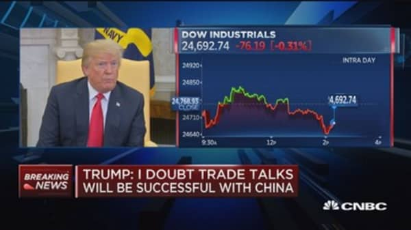 Trump: ZTE just a small component of overall trade deal
