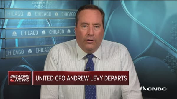 United CFO Andrew Levy departs