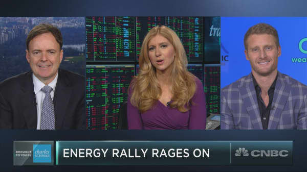 Energy stocks are doing something they haven't done in 12 years. Here's what to expect next