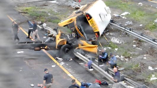 Tour Bus Crash New Jersey