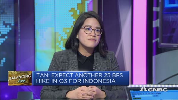 The Indonesia rupiah should stabilize as economic fundamentals offer support: economist