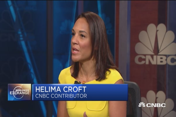 Helima Croft talks about rising energy prices