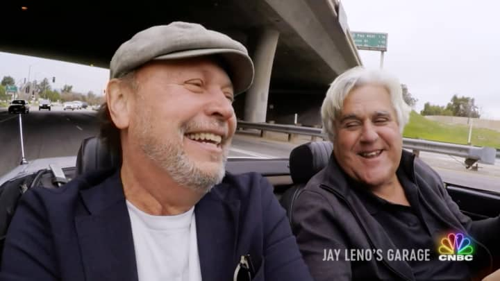 Jay Leno rides with legends on an all new Jay Leno's Garage
